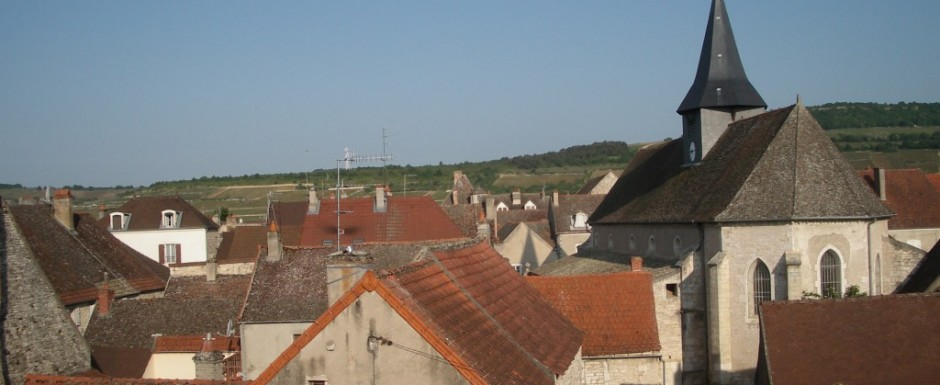 These are the views across Puligny Montrachet that you will see when you stay at our luxury three double bedroomed vacation rental in Burgundy