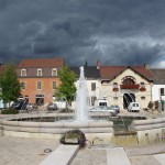Santenay is a lovely village, with its own spa and casino