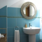 The family bathroom (Tuareg) in the Little House which can be rented alongside the Main House in Puligny Montrachet