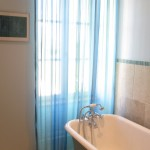 not only do we have three en suite bedrooms, we also have a family bathroom (with bath!) at our luxury holiday rental in Burgundy (Puligny Montrachet)
