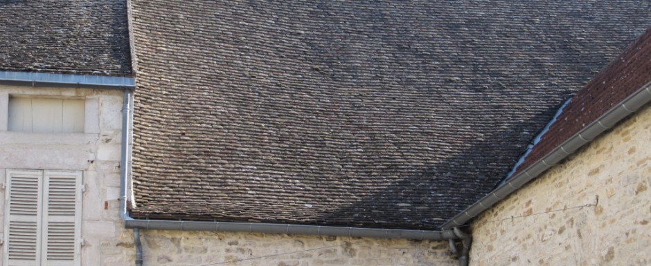 Stunning Burgundian roofs can be seen as you leave our luxury holiday home in Puligny Montrachet an explore the village