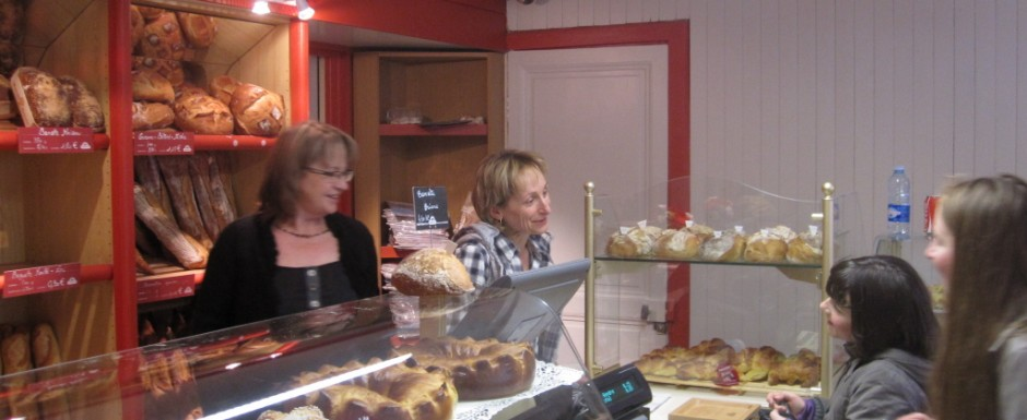 Our village bakery is just 435 steps from 10pm our luxury holiday home in Puligny Montrachet, Burgundy