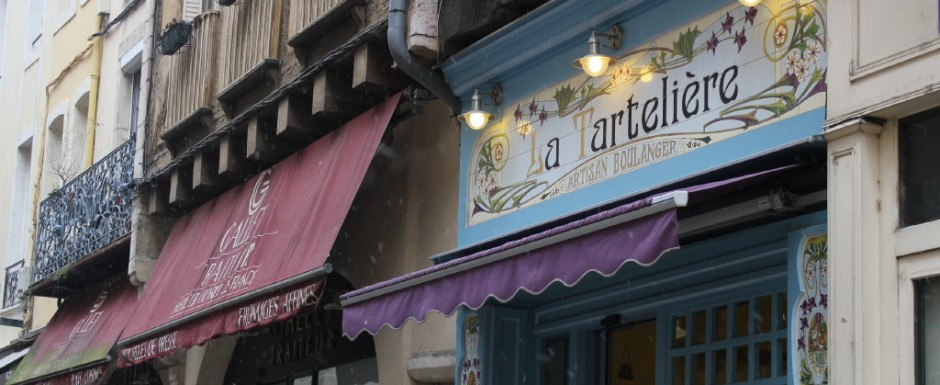 Chalon-sur-Saone has some lovely shops to visit and it is only 20 minutes from 10pm where we have our rental property