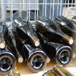 As our luxury holiday rental is next door to Domaine Jean Chartron we get to witness the wines being lovingly made. Here the 2011s are being bottled.