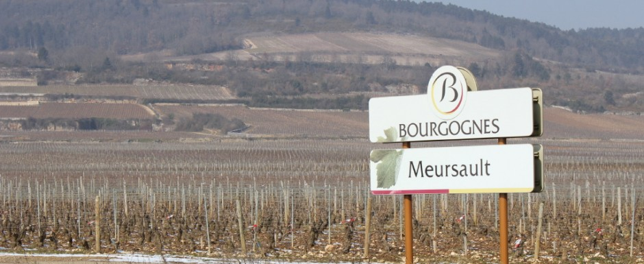 We have our house in Puligny Montrachet, amerely a walk or a bicycle ride from Meursault another venue for tasting fine Burgundian wines