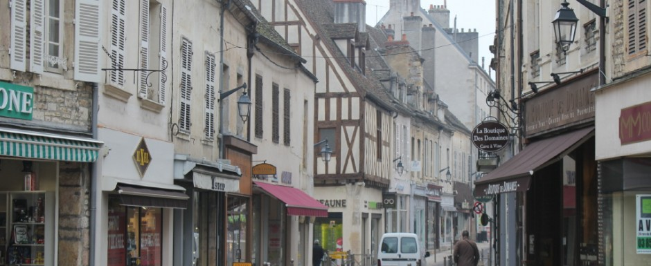 One of the great things to do in Beaune is check out the architecture, any time of year