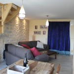 Mali is the second sitting room of our luxury holiday rental in Puligny Montrachet near beaune, Burgundy. It takes four people and the Main House, six.