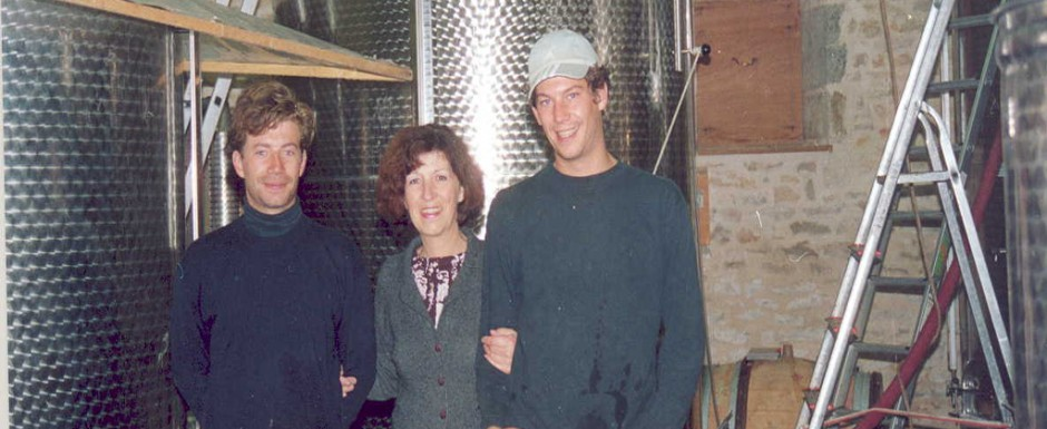 The Bachey-Legros family, friends of 10pm and makers of fine Santenay, Chassagne Montrachet and Meursault